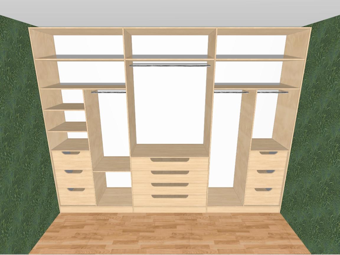 Шкафы купе и гардеробные комнаты на заказ. цены.